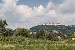Katolsk territoriell abbotskloster Fotografering för Bildbyråer