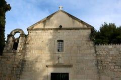 katolska croatia introducerade först den mass prästen delad till vernacular vem Royaltyfri Foto