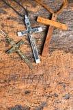 Katolska kors Royaltyfria Bilder