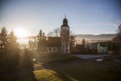 katolska kyrkan Royaltyfri Foto
