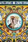 Katolska monarker, Ferdinand och Isabella, Spanien arkivbild