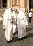 Katolska nunnor, Roma Royaltyfri Bild
