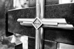 Katolska religiösa symboler Arkivfoto