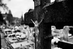 Katolska religiösa symboler Royaltyfri Foto