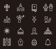 Katolska religionsymboler Royaltyfri Foto