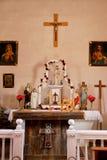 Katolskt altare Arkivbild