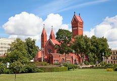katolskt kapell Fotografering för Bildbyråer