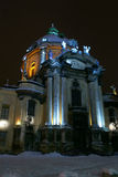 katolskt tempel Royaltyfri Fotografi