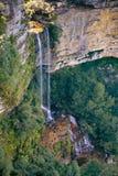 Katombaa cade nel parco nazionale blu della montagna, Australia fotografia stock