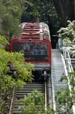 Katoomba风景世界盘旋火车新南威尔斯澳大利亚 免版税库存照片