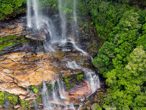 Katoomba Falls in Blue Mountains Australia Stock Photography