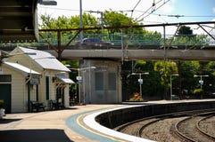 Katoomba stacja kolejowa, Australia Obrazy Stock
