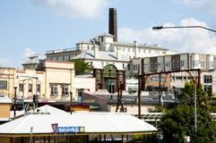 Katoomba stad fotografering för bildbyråer