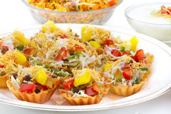 Katori Chaat Stock Images