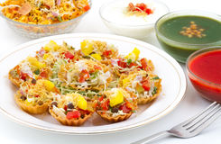 Katori Chaat Royalty Free Stock Photo
