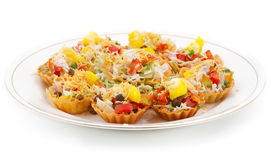 Katori Chaat Royalty Free Stock Photography
