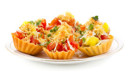 Katori Chaat Stock Image