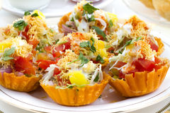 Katori Chaat Royalty Free Stock Images