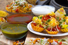 Katori Chaat Stock Photos