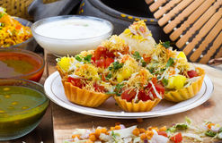 Katori Chaat Royalty Free Stock Image