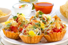 Katori Chaat Stock Photography