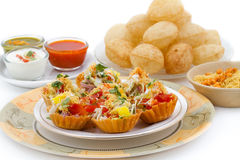 Katori Chaat Stock Photo