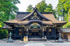 Katori shrine in Chiba, Japan royalty free stock photo