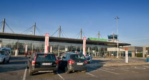 Katowice airport - exterier Terminal A Royalty Free Stock Photo