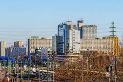 Katowice céntrico Imágenes de archivo libres de regalías