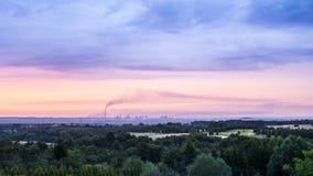 Katowice Foundry panorama Stock Photography
