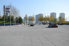 Katowice, mijnschacht Royalty-vrije Stock Afbeelding