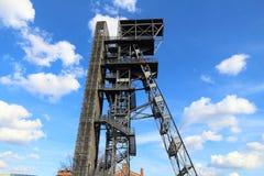 Katowice mine shaft Royalty Free Stock Images