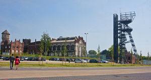 KATOWICE, POLAND - JULY 19, 2015 The new Silesian Museum on 19 J Stock Photo