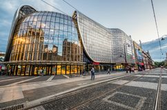 Katowice in Poland Royalty Free Stock Images