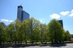 Katowice in Polen Stock Afbeelding