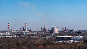 Katowice Steelworks Royalty Free Stock Images