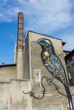 Katowice-Straße Art Festival Stockfotos