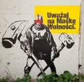 Katowice Street Art Festival Royalty Free Stock Image