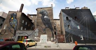 Katowice Street Art Festival Stock Image
