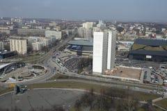 Katowice tefat Royaltyfri Bild