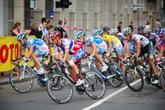 Katowice Tour de Pologne Fotografie Stock