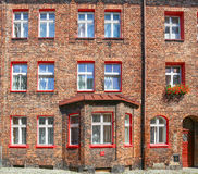 Katowice / traditional building in Nikiszowiec district Stock Photos