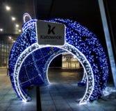 Katowiceluchthaven Stock Foto
