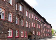 Katowicka, dziejowa architektura minors gromadzcy/ obraz stock