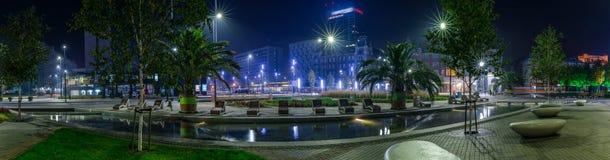 Katowicki magistrala rynek - panorama II fotografia royalty free