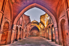 Katra mosque horizontal HDR Stock Photo