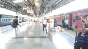 Katra station, mata veshno devi. Clean station, railway station, religious,pious, pure stock images