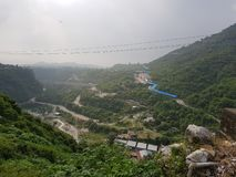 Katra. Top view of Katra from viashno devi road royalty free stock image