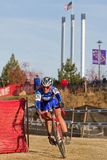 Katrina Baumsteiger - Pro Woman Cyclocross Racer Royalty Free Stock Images