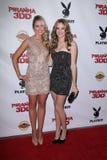 Katrina Bowden, Danielle Panabaker at the  Royalty Free Stock Photos